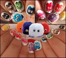 wuppie ''weepul'' nails by Ninails