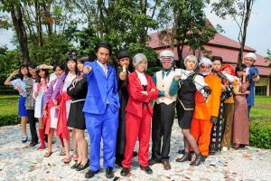 Phoenix Wright: Group Shots. by solatomato