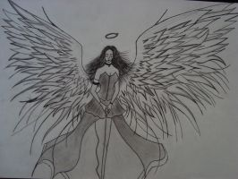 when the angels cry...for you. by death-angel-6