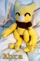Abra Plushie by CeltysShadow