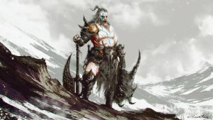 Diablo - Barbarian by omertunc