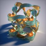 Bigger twisted mobius cube in Octane by davidbrinnen