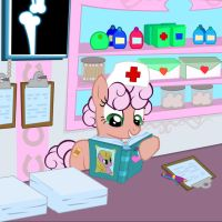 WIP- Ponyville Hospital Comic by PixelKitties