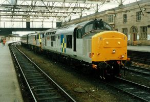Ex Works Class 37 at Carlisle by klambert94