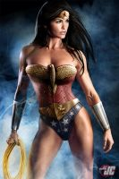 Wonder Woman by Jeffach