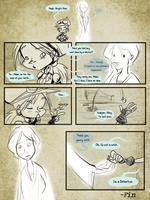 Masque Round 1 Page 7 by AbbieFinch