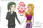 Link and Zelda: Together.... forever.... by joe9320