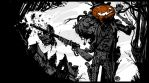 Gunslinger Pumpkin by ChristianNauck