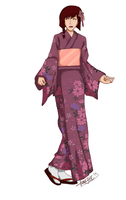 MM: Rei Yukata by HanaPon