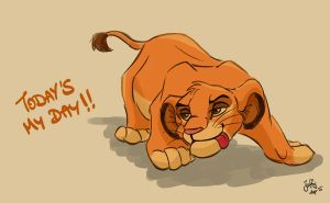 Today is Simba's day! by Juffs