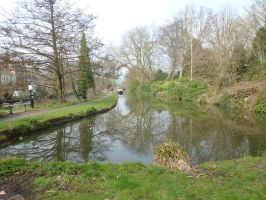 Canal in Oxford by photodash