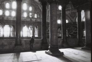 Old man in Ayasofya by TanBekdemir