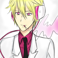 Psychedelic Shizuo by VAMPIRELG