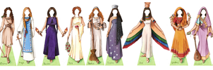 Goddess Paper Doll by juliematthews