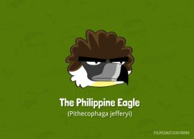 Philippine-eagle by Filipeanuts