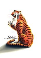 Shere Khan by MoonchildinTheSky