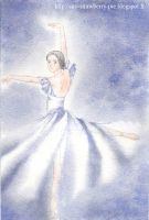 Giselle Watercolor by Ly-Ka
