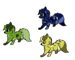 Adopt pups *name your prize* by BlackBloodX
