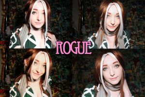 WiP: Legacy Rogue Makeup by SugarBunnyCosplay