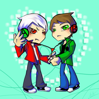 Ben10 - A and B by dust4148