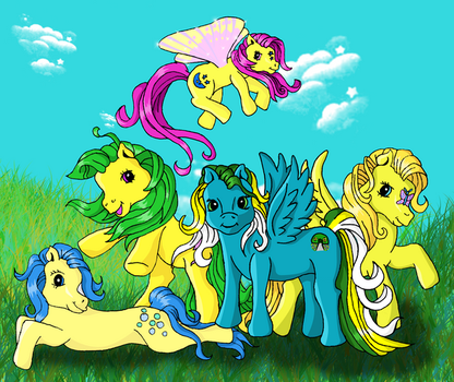 Surrounded by Yellow by Fangirl-Archer