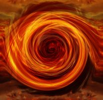 Abstract Fire Portal by Shifterfd