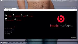 Beats by dr.dre Chrome Skin by Maiiq