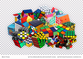 PNG PACK #11/MAGIC CUBE by tvm-resources