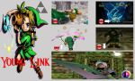 Young Link Super Smash Bros. Moveset (Revised) by Hyrule64