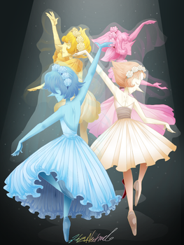 Ballerina Pearls by HezuNeutral