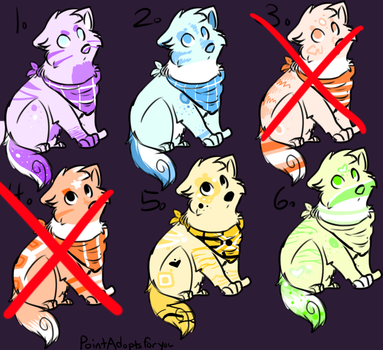 ADOPTABLES. by Anchor-----adopts