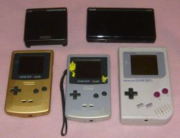 Handheld Game Collection by Jyxxie