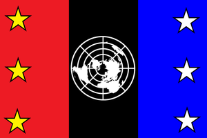 United Nations Federation Flag by Party9999999