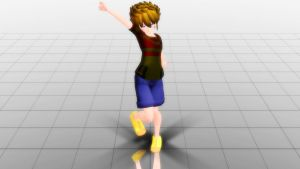 [MMD x Earthbound2] Lucas by EspeonFan202