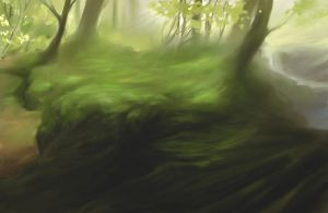 Forest Speedpaint by centralunrest