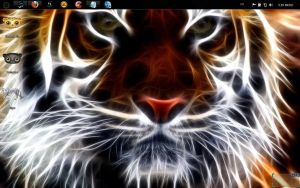 Windows 7 themes: Tiger 7 By B by bbosa
