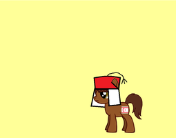 Turkish Republic of Northern Cyprus as a pony by nogirl70