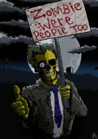 Zombie Protest by icuris