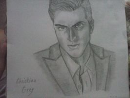 Christian Grey of Fifty Shades of Grey by itsvirgo24