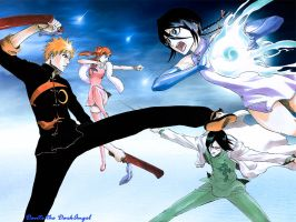 Bleach-Martial Art by DanteDarkangel