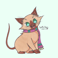 Siamese If You Please by StrawberrieMew