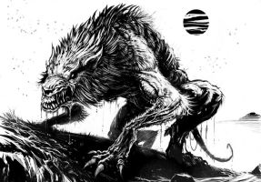 Werewolf by ScottPurdy