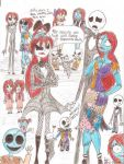 jack + Sally equal 2 many Kids by jackfreak1994