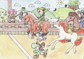 The Video Games Derby by ChaosAngel5
