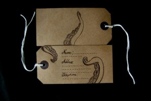 kraken label front and back by kraken-Designs