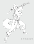 Aslade lineart by JessicaElwood