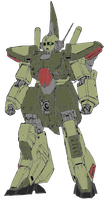 RMS-154 Barzam (Zeon Remnant colours) by DarthKaiser