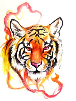 Tiger Design by Lucky978