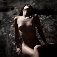 Nude at the rock by fb101