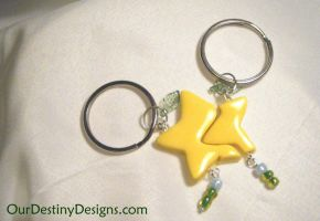 Sharable Paopu Fruit Key Chain by OurDestinyDesigns